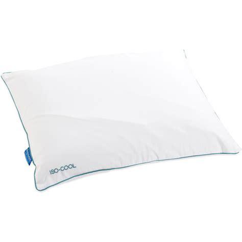 iso cool visco elastic memory foam pillow set pacific