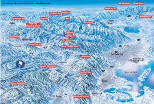 Utah Ski Resorts Map by Welcome To Adobe Golive 5