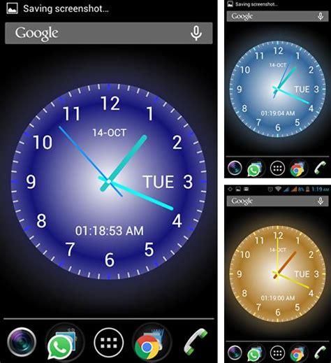 Telecharger Themes Clock Gratuit | fonds d 233 cran anim 233 avec l heure pour android t 233 l 233 chargez