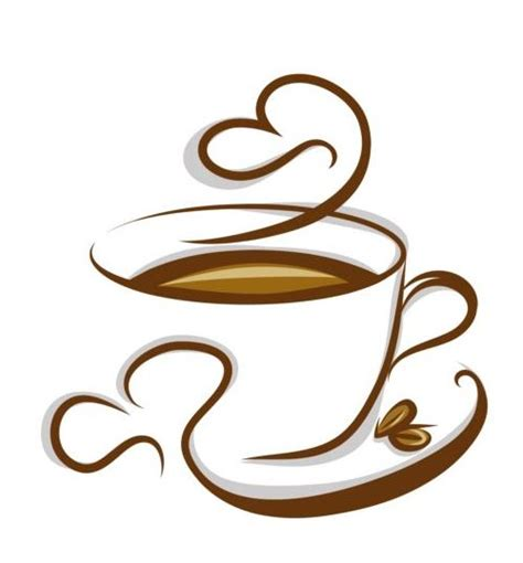 how to make designs on coffee abstract coffee with cup design vector 04 vector