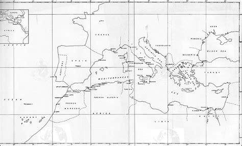 map of mediterranean area hyperwar building the navy s bases in world war ii