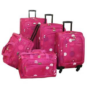 Luggage Set American Flyer Fireworks 5 Expandable Spinner