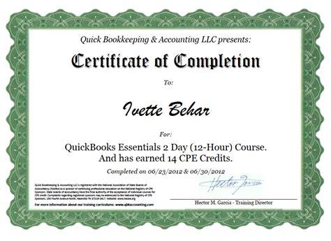 best certificate courses quickbooks courses with certificate quickbooks