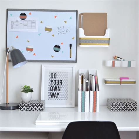 Desk Organizing 25 Best Ideas About Study Desk Organization On Pinterest Desk Organization School Desk