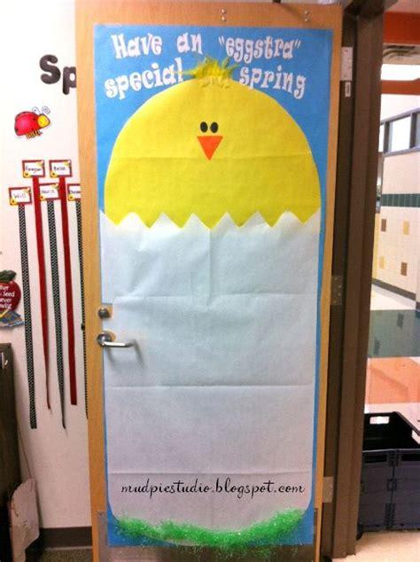 Easter Classroom Decorations by Door Decor Bulletin Board For Classroom School