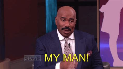 my five men so who is she my man lol gif by steve harvey tv find share on giphy