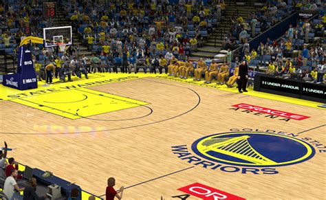 nba 2k13 oracle arena court patch nba2k org