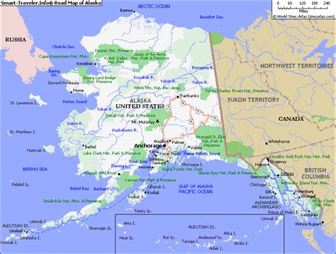 map usa with alaska map of alaska america maps map pictures satellite images