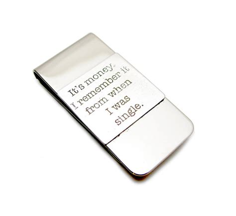 Wedding Gift Engraving Quotes by Quote Money Clip Wedding Gift Money By Leanderdambrosia