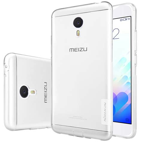 Silicon Casing Softcase Babyskin Meizu M3 Note nillkin meizu m3 note nature transparent clear soft silicon tpu protector cover free