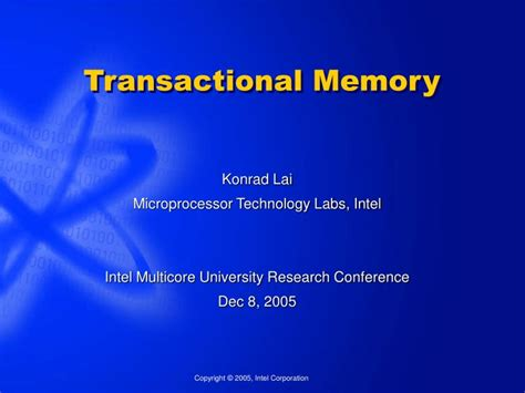 Ppt Transactional Memory Powerpoint Presentation Id 6698381 Memory Ppt