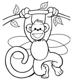 monkey coloring pages monkey coloring pages coloring part 5