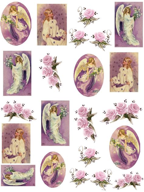 Printable Decoupage Sheets - free 3d decoupage sheets printables 28 images
