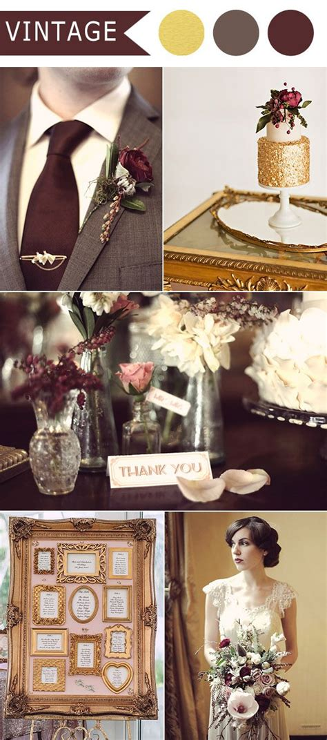 vintage themed wedding decor 25 best ideas about vintage wedding colors on
