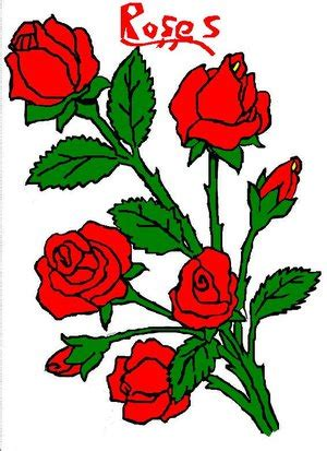 cartoon rose wallpaper pictures of cartoon roses clipart best