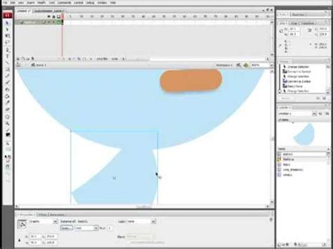 2d animation flash tutorial youtube 2d character animation in adobe flash part 1 youtube