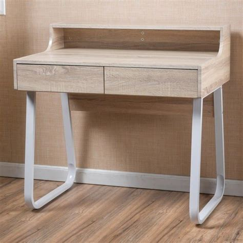 jedidiah acacia wood computer desk by christopher home best 25 wood computer desk ideas on simple