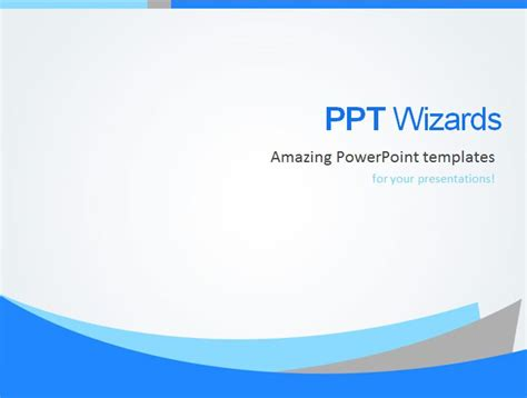 Unique Company Presentation Template Ppt Wizards Powerpoint New Slide Template