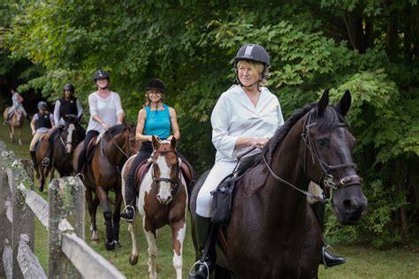 Martha Stewart Rides A Stallion by Celebrating Labor Day With A Horseback Ride Ulivjava And