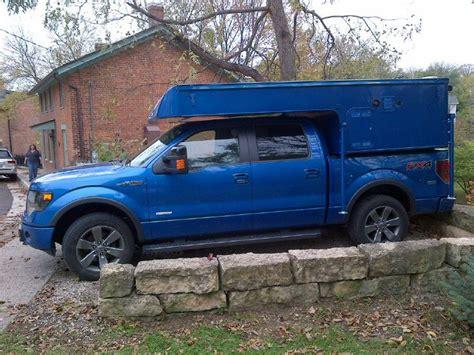 custom phoenix camper  ecoboost  pickup truck camping camper trailers truck camping