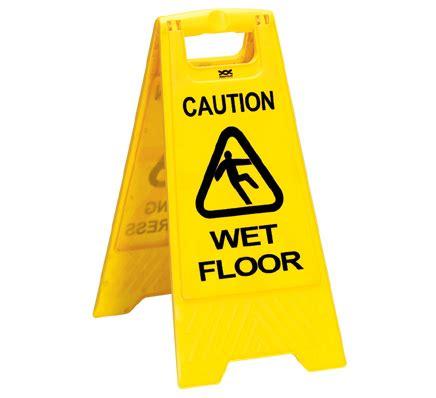 Floor Signtanda Lantai Licin caution floor sign health and safety signs