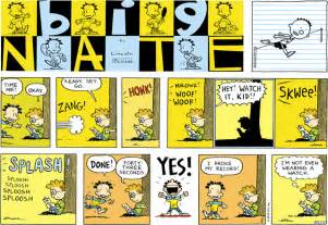 big nate daily funnies