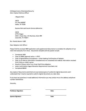 cover letter for uscis the cover letter forms and templates fillable