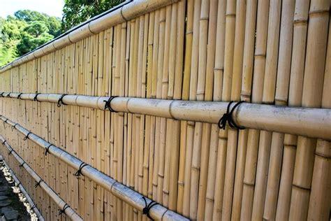 Brise Vue Bambou Leroy Merlin by Palissade Bambou Cloture Bambou Palissade Bambou Leroy