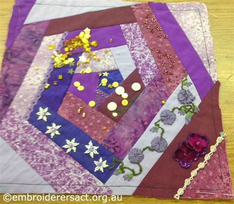 Different Patchwork Techniques - photo quilt embroiderers guild act