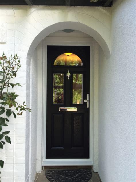 Black Composite Front Door Portfolio Iglaze Iglaze