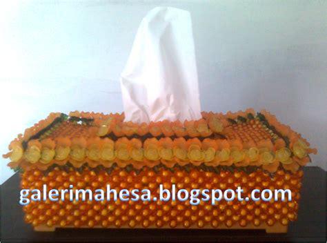 Tempat Tissue Kombinasi Tempat Aqua manik manik mote akrilik galeri mahesa kotak tisu dan tempat serbet