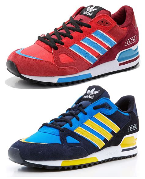 new adidas zx 750 mens retro sports trainers suede running shoes size 7 12 uk ebay