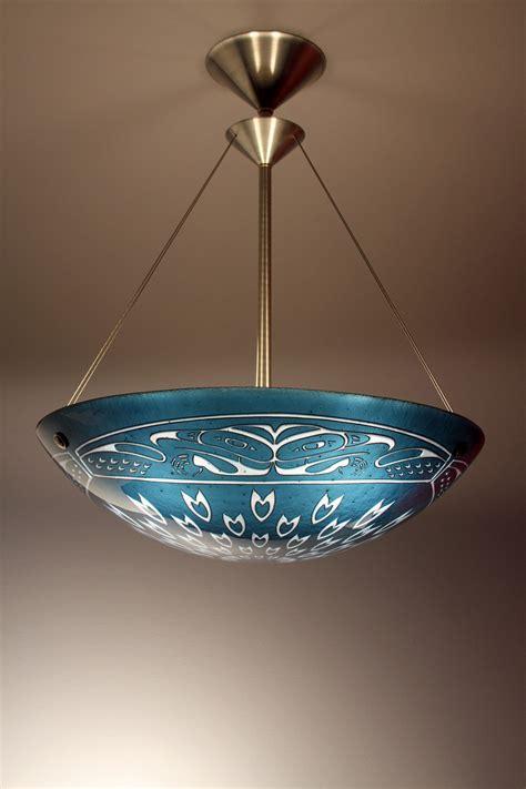 Glass Pendant L by Falcon Pendant L By George Glass Pendant