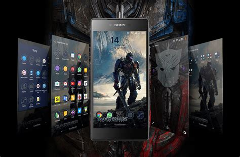 themes transformers android xperia transformers last knight theme for non rooted device