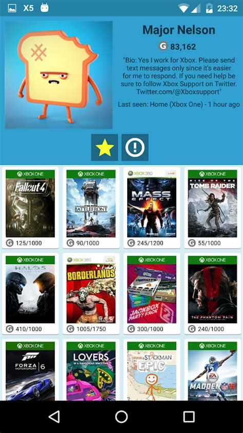 my xbox live friends android apps on play