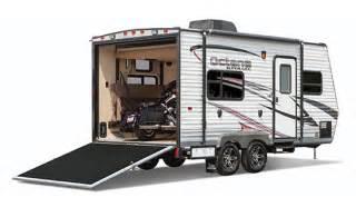 Cougar Travel Trailer Floor Plans octane zx super lite toy haulers jayco inc