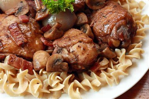 cuisiner cepes coq au vin recipe the daring gourmet