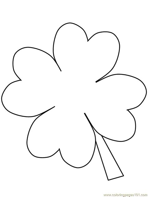 coloring pages clover cartoons gt saint patrick s day