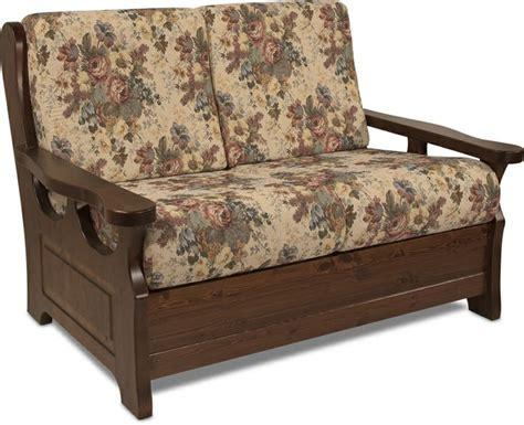 divani con struttura in legno divano rustico 2 posti con struttura in legno massello di