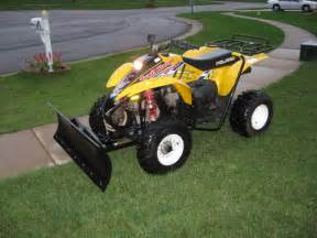 Snow Plow For Suzuki Atv Snow Plow For Scrambler 500 4x4 Atvconnection Atv