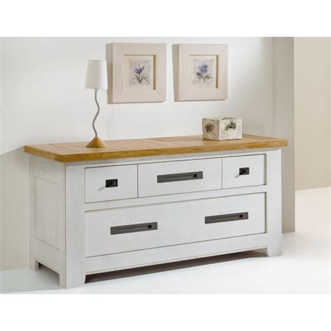 Commode Chene Massif by Commode Ch 234 Ne Massif Meubles Leclerc