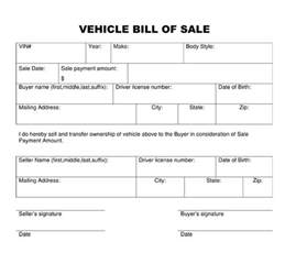bill of sale template vehicle bill of sale printable calendar templates