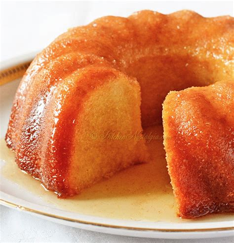 rum cake recipe rum cake from scratch kitchen nostalgia