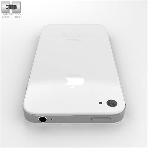 apple iphone 4s 3d model hum3d