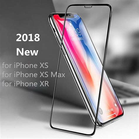 for apple iphone xs max xr xs accessory tempered glass screen protector ebay