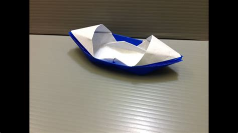 how to make a paper boat it movie daily origami 091 san boat doovi