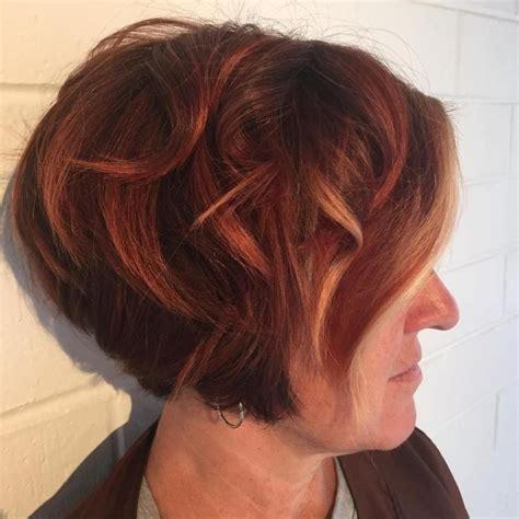 stylish eve colouredbob hairstyles for women 25 best ideas about short auburn hair on pinterest