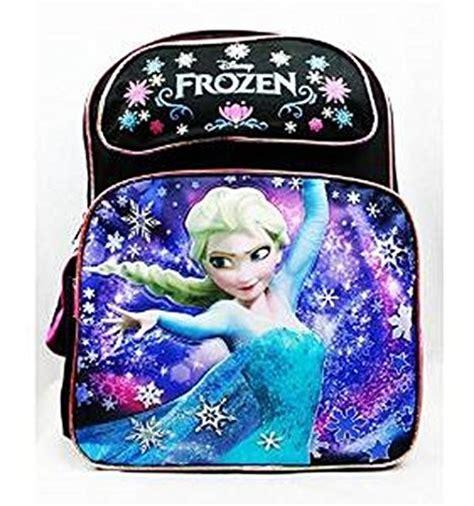 Travel Bag Kanvas Karakter Frozen Black frozen elsa backpack black a mighty