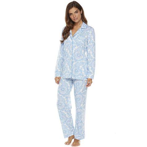 knit pajamas chaps pajamas knit pajama set s from kohl s pjs