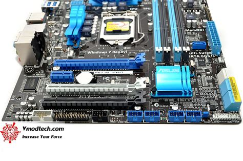 Asus P67 P8p67 M Tanpa Backpanel หน าท 1 asus p8p67 m pro micro atx p67 motherboard review vmodtech review overclock